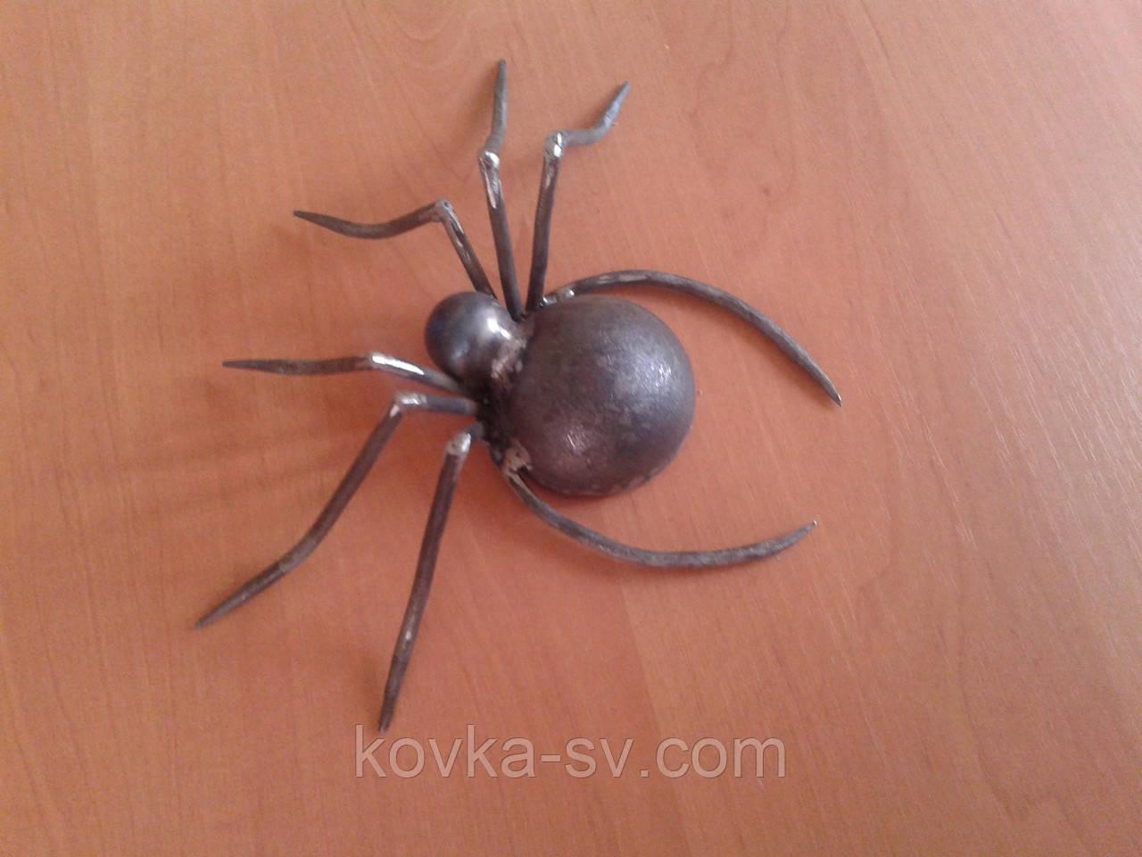 Кованый паук 200х100