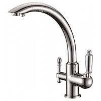 Смеситель для кухни с подключением фильтрованной воды Kern 2041 Хром
