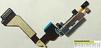 Шлейф зарядки для iPhone 4G білий