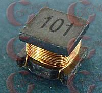 Катушка индуктивности 100мкГн 560мА Murata LQH55DN101M03 5.7x5x4.7