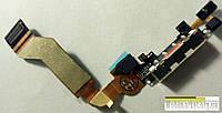 Шлейф зарядки для iPhone 4S білий