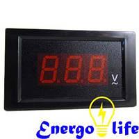 Вольтметр шкафной черный АС80-500v, ST 526