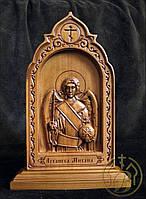 Резная икона Архангел Михаил