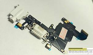 Шлейф зарядки для iPhone 6S білий, фото 2