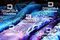 Натуральный шелк натуральний шовк  Синий
