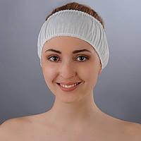 Повязка для волос одноразовая (спанбонд) Doily, 10 шт.
