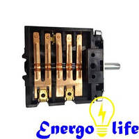 Переключатель на электроплиту 5 контактов, ST 216