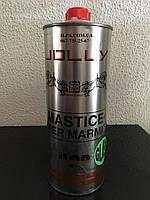 Клей мастика для мрамора гранита натурального камня травертина JOLLY GLASS
