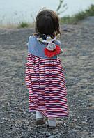Летнее легенькое платье туника. 92, 98, 104, 110, 116 см, фото 1