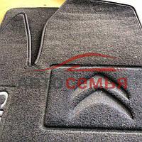 Ковры текстильные Citroen C-4 Cactus '15- Ciak ML чёрн.флок (5шт/комп)