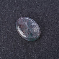 Кабошон Моховый Агат нат камень 2,5х1,8см