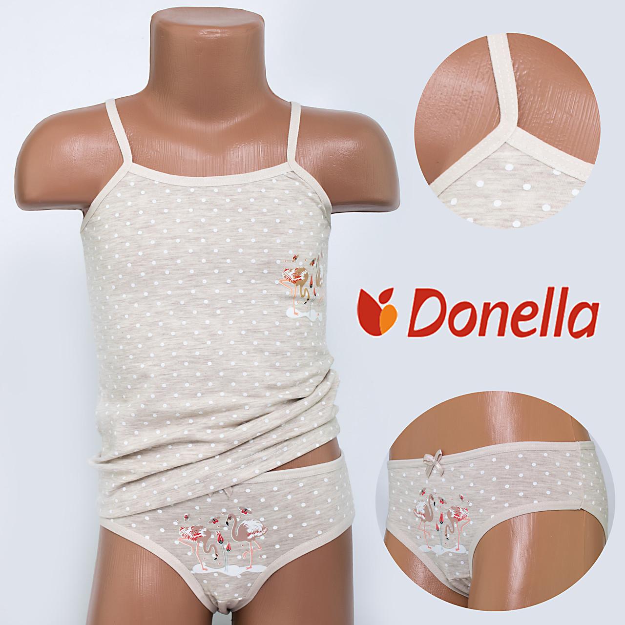 Детский комплект нижнего белья майка+трусики Donella, Турция. Donella