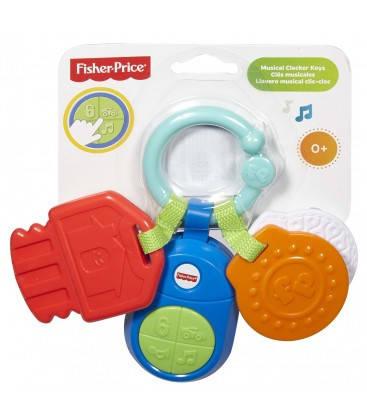 Музыкальная погремушка Смартфон и Ключики в ассортименте Fisher-Price