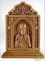 Резная икона Лука Крымский