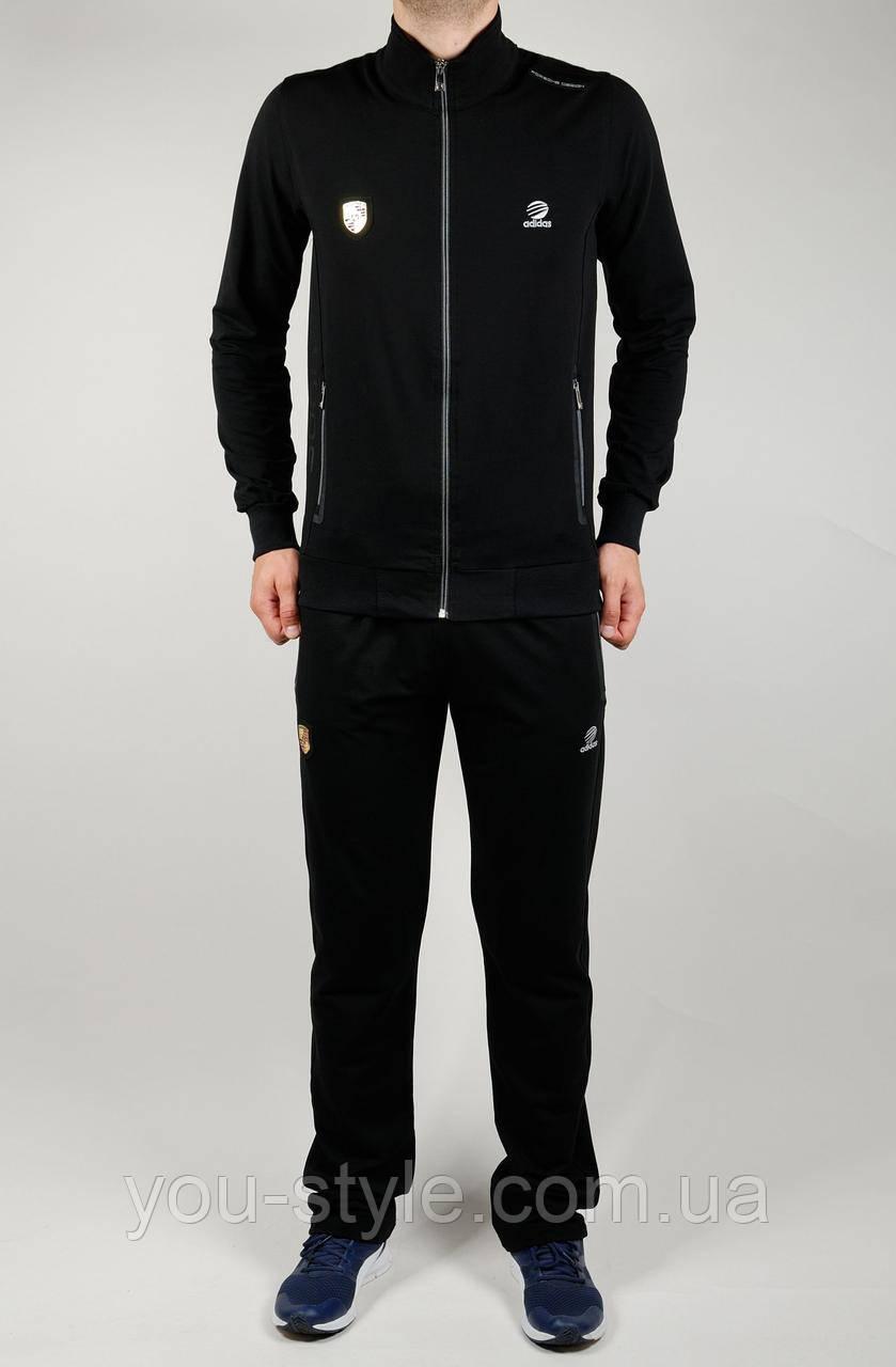 Чоловічий спортивний костюм Adidas 4159 Чорний