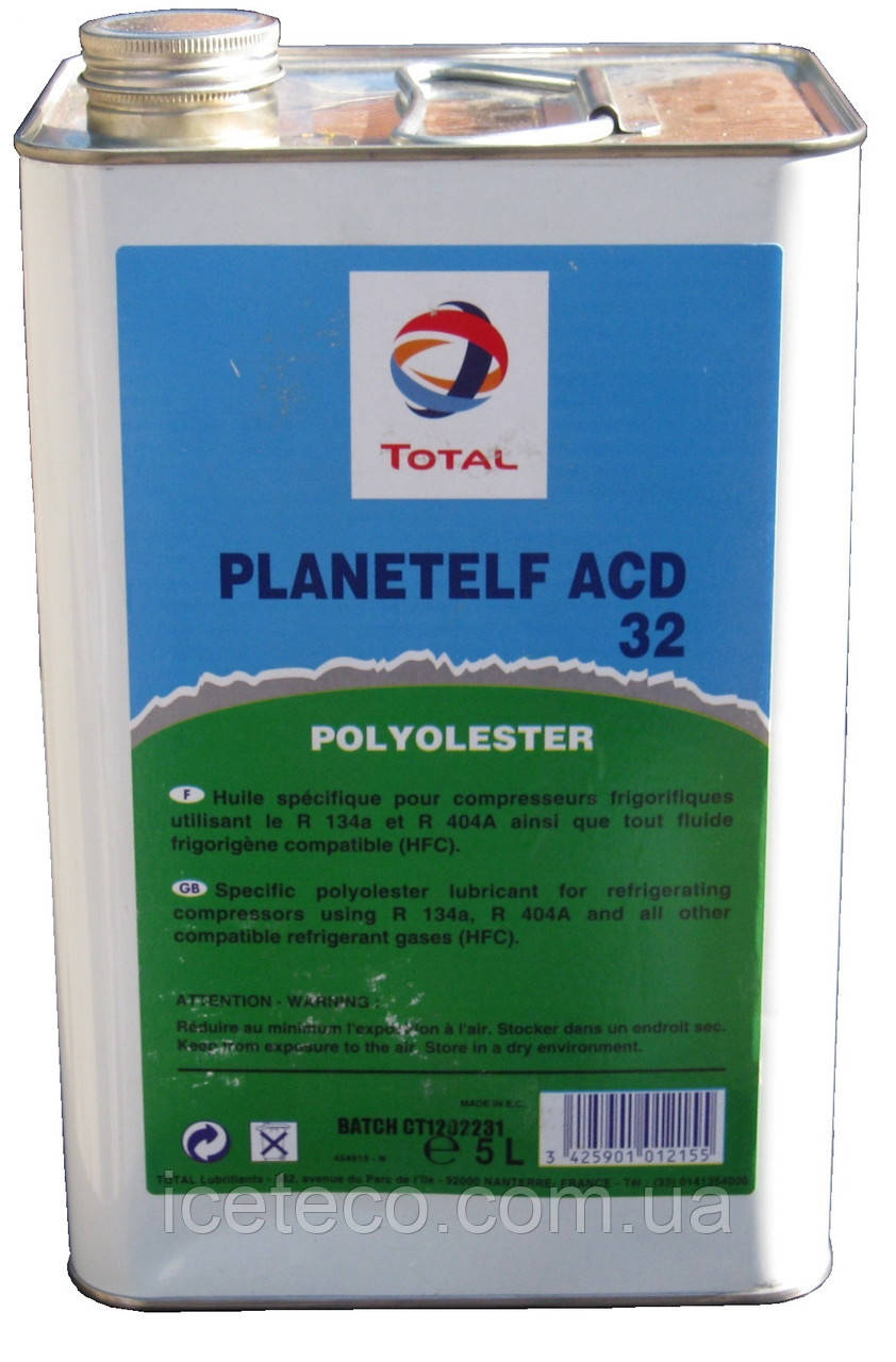 Синтетическое масло TOTAL Planet Elf ACD 32