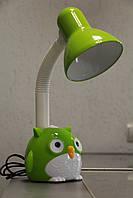 Настільна лампа ВК052 зелена сова