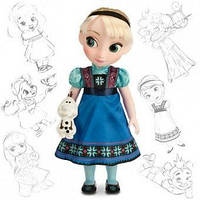 Кукла Disney Animators Эльза Холодное сердце Дисней Аниматоры/ Elsa Frozen