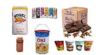 Сырье, вкусовые добавки и упаковка для попкорна