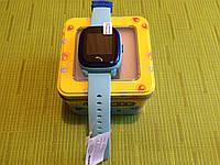 Детские водонепроницаемые часы DF25 (Q100aqua), голубые