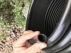 Садовый бордюр Кантри 9м пластиковый черный, фото 2