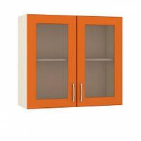 Шкаф-витрина двухдверная 60