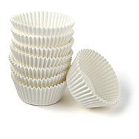 Форма бумажная для конфет белая