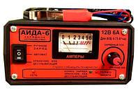 Зарядное устройство для авто аккумуляторов «АИДА-6»: 12В АКБ 4-75А*час. 3 режима-ручной/авто/десульфатация