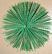 Щетка для чистки дымохода ф175 пластик, фото 2