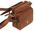 Кожаная сумка Always Wild 5047-1-CBH COGNAC, коричневый, фото 8