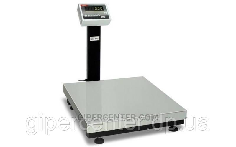 Товарные весы BDU300C-0808 стандарт 800х800 мм со стойкой