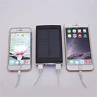 Solar Charger Power Bank 25 000 mAh НА СОЛНЕЧНЫХ БАТАРЕЯХ+LED- СО СКИДКОЙ 50%