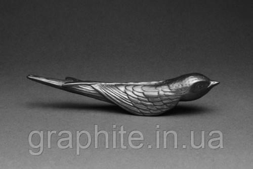 птица из графита