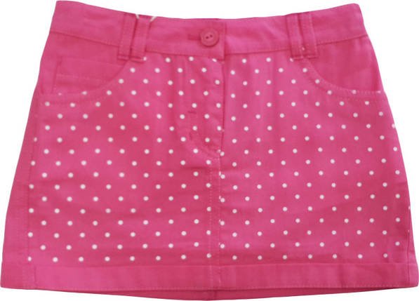 Юбка летняя коттоновая розовая размер 116 134 ЮБ67, фото 2