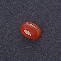 Кабошон Сердолик нат камень 1,3х1,8см (+-)