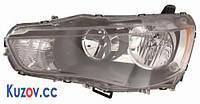 Фара Mitsubishi Outlander XL 10-12 левая (DEPO) электрич. 214-1198L-LDEM2