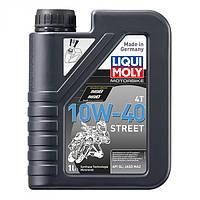 Liqui Moly масло для 4-тактных двигателей Motorbike 4T 10W-40 Street 1л