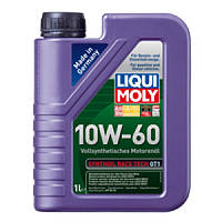 Liqui Moly Synthoil Race Tech GT1 10W-60 синтетическое моторное масло