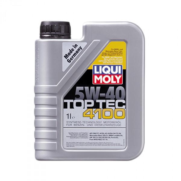 Синтетичне моторне масло Liqui Moly Top Tec 4100 SAE 5W-40