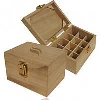 Деревянный ящик для хранения MINI ( 12 флаконов)