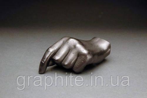 Рука из графита