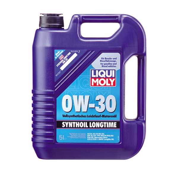 Синтетичне моторне масло Liqui Moly Synthoil Longtime SAE 0W-30