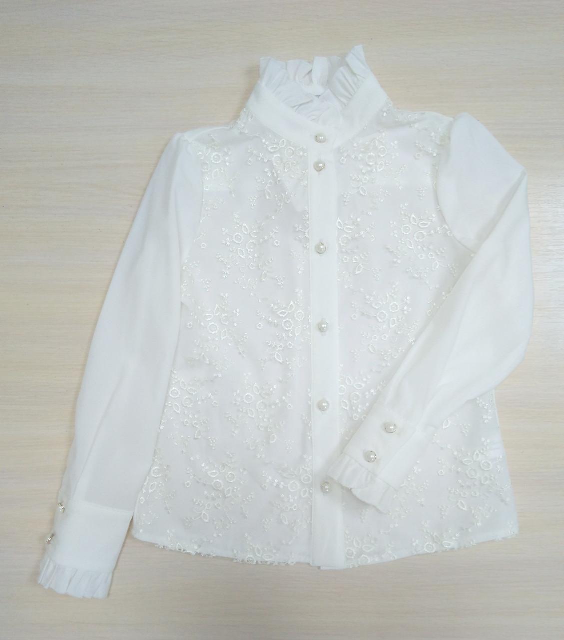 55a0b0686b18 Suzie Блузка Николет р116-140 кремовый, цена 629 грн., купить в ...