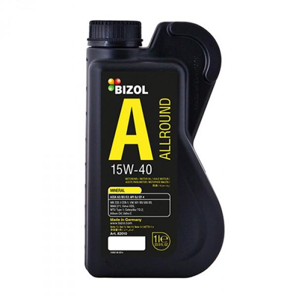 Минеральное моторное масло BIZOL Allround 15W-40