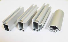 Алюмінієвий профіль для торгового обладнання