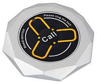 Кнопка вызова официанта и персонала R-600 Silver Crystal RECS USA