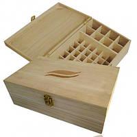 Деревянный ящик для хранения MAXI( 50 флаконов)