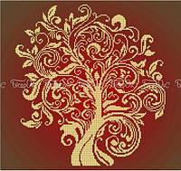 Схема для вышивки бисером Дерево изобилия (40 х 45 см) 7207973d58d57