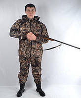 Камуфляжный костюм для охоты и рыбалки на флисе