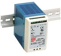 DRC-100A, DRC-100B - однофазные источники питания Mean Well с функцией ИБП (на DIN-рейку)
